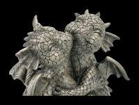 Gartenfigur Drachen Liebespaar - Loving Dragons