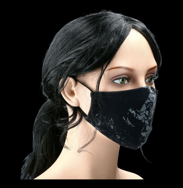 Face Coverings - Mask Fallen Lace