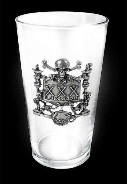 Alchemy Gothic Bier Glas - XXX Black Rose
