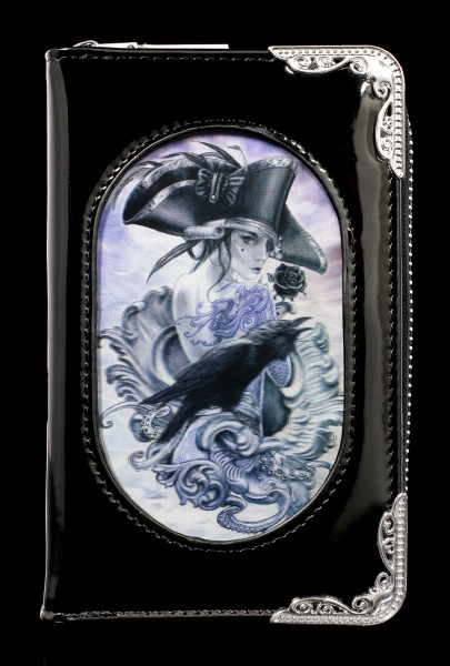 Fantasy Purse with 3D Crow - Stormcrow - small