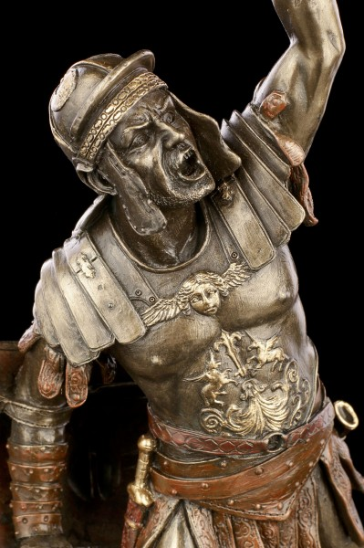 Gladiator Figur - Spartacus mit Schwert und Schild
