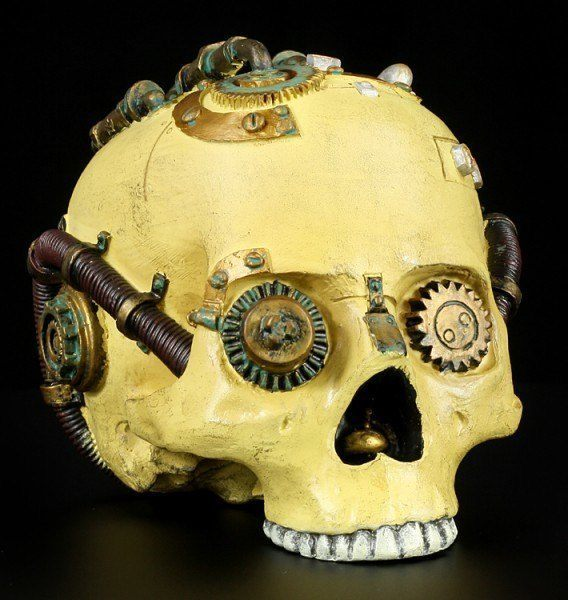 Steampunk Skull colored