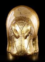 Egyptian Hippo Figurine - gold colored