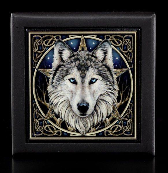 Schmuckbox klein - Wilder Wolf - Lisa Parker