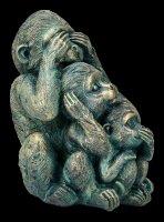 Affen Figur - Nichts Böses