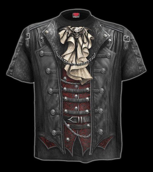 T-Shirt Gothic - Goth Wrap