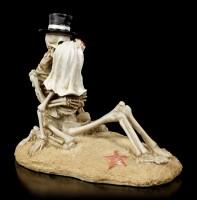 Skelett Figur - Love Never Dies - Beach Lovers