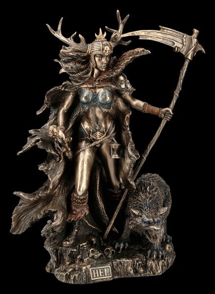 Hel Figurine - Goddess of the Underworld