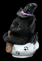 Witch Cat Figurine - Kit-Tea