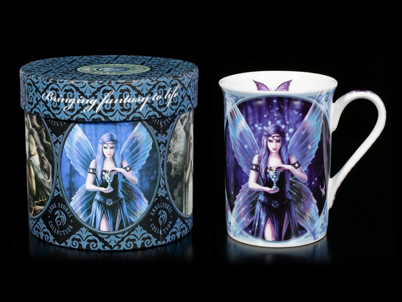 Porcelain Mug with Fairy - Enchantment