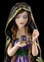 Witch Figurine - Arkana with Dragon