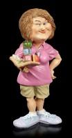 Funny Job Figurine - Kindergarten Teacher with Toys