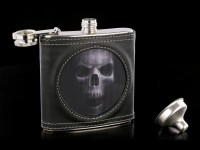Hip Flask with Skull - The Watcher 3D