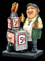 Funny Job Figurine - Hotdog Seller