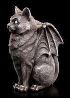 Candle Holder - Cat Gargoyle