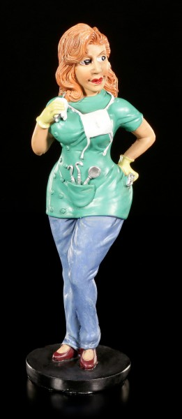 Funny Job Figurine - Dental Assistant