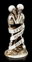 Skelett Figuren - Love Never Dies - Banderole