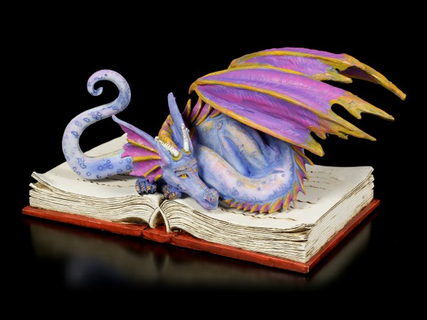 Dragon Figurine Book Wyrmll by Amy Brown