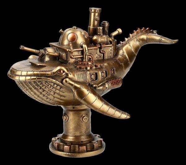 Steampunk Wal Figur - Marine Machine