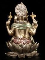 Ganesha Figure on Lotus Throne