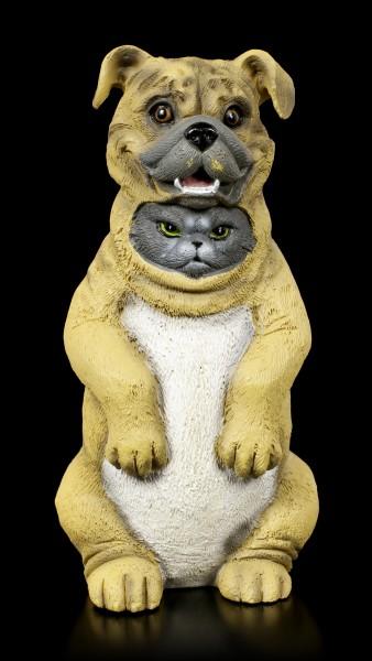 Dupers Figurine - Cat in Dog Costume