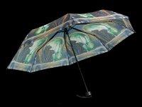Regenschirm mit Katze - Absinthe