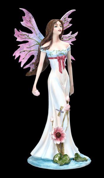 Elfen Figur - Fauna mit rosa Flügeln