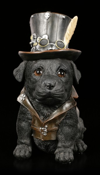 Steampunk Cogsmiths Dog Figurine
