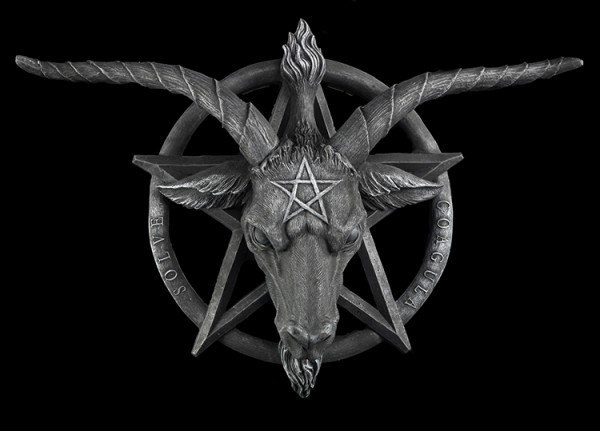 Wall Plaque - Baphomet large