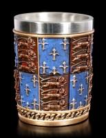 Mittelalterliche Schnapsbecher - 4er Set