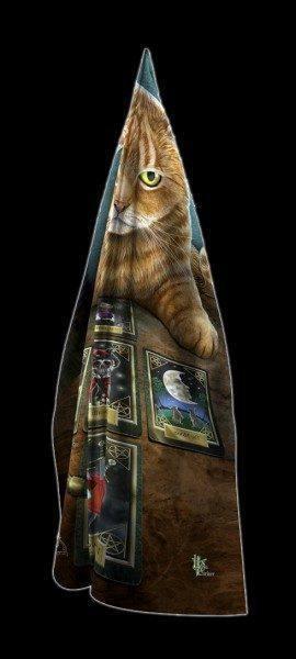Maxi Schal mit Katze - The Reader