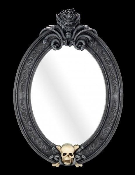 Wandspiegel - Blick in die Hölle