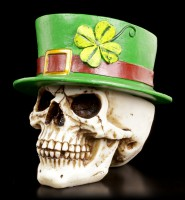 Irish Skull with removable Top Hat