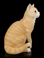 Katzen Figur - Orange Tabby