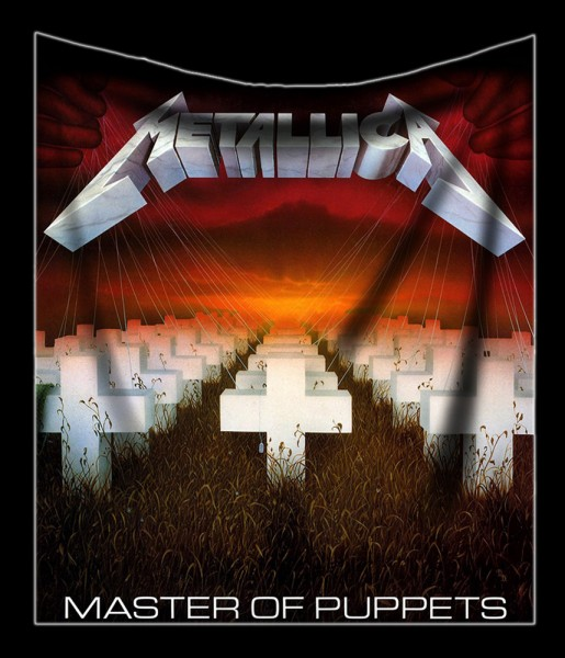 Metallica Fluffy Blanket - Master of Puppets