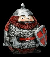 Lustige Ritter Figur - Sir Round