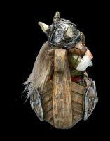 Lustige Wikinger Figuren im Set - Fröhliche Fahrt