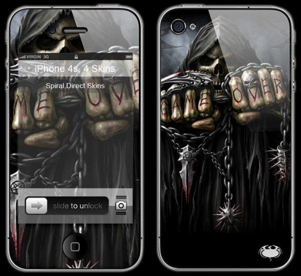 Reaper Smartphone Skin - Game Over