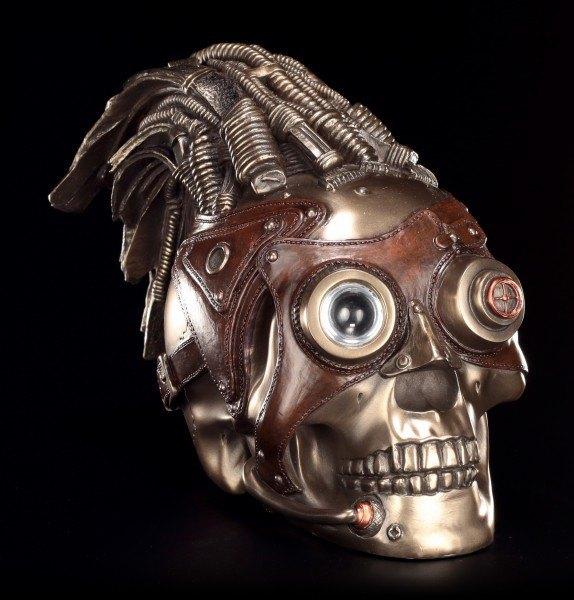 Steampunk Skull - Monocle