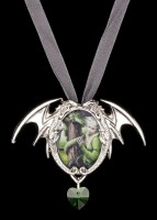 Halskette mit Elfe & Drache - Kindred Spirits