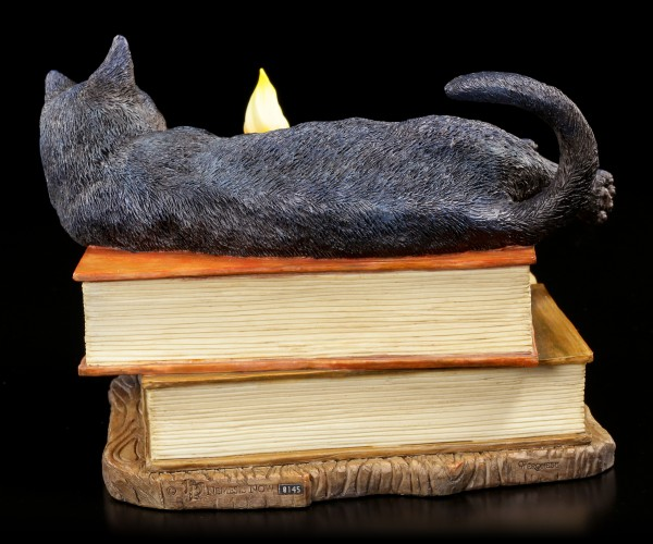 Katzen Figur - Witching Hour by Lisa Parker