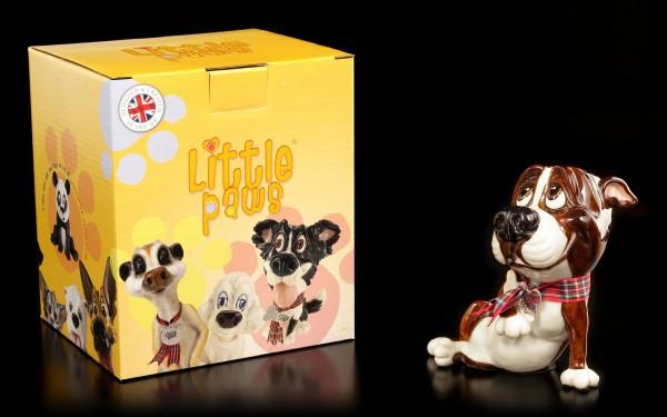 Dog Figurine - Bull Terrier Chaz - Little Paws