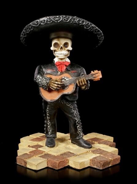 Skelett Figur - Mariachi Band Gitarre