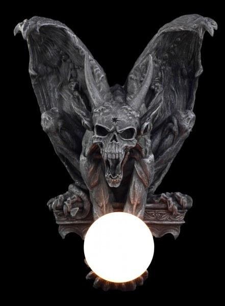 Teufel-Wandlampe