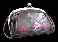 Lack Abend-Handtasche mit 3D Motiv - Rose Fairy