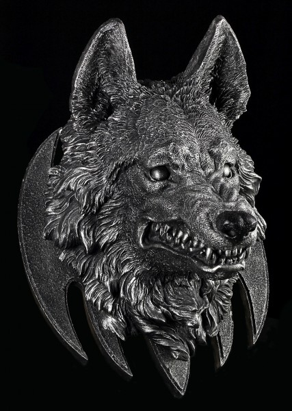 Wolf Head Wall Plaque - The Wild Beast Trophy