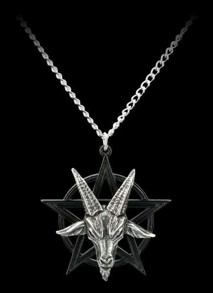 Alchemy Gothic Necklace - Baphomet