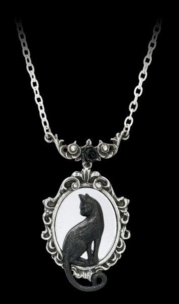 Alchemy Cat Necklace - Feline Felicity Mirror