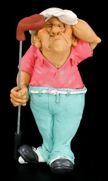 Golfer - Funny Sports Figur