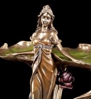 Art Nouveau Plate - Standing Woman